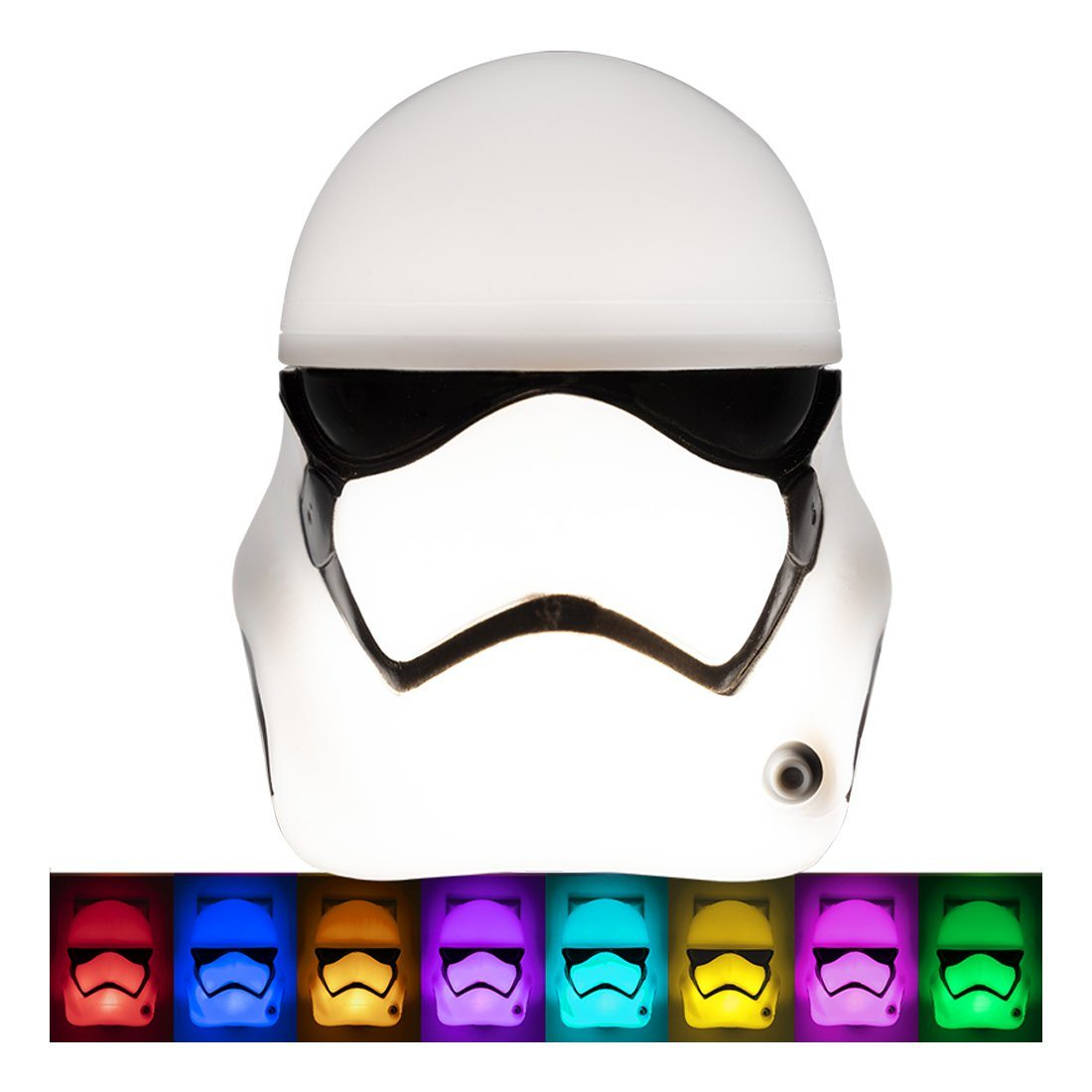 Star Wars Stormtrooper HeadLite LED Night Light, Color Select, Light Sensing