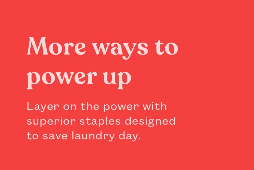 More ways to power up