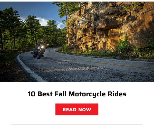 10 Best Fall Motorcycle Rides