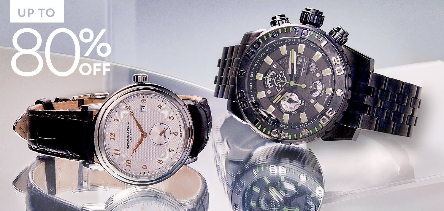 The Men's Watch Gallery With New Styles