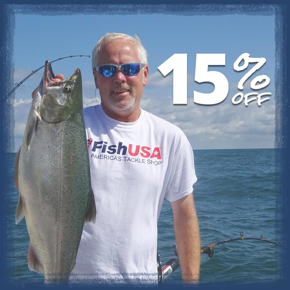 Save 15% in the Salmon and Steelhead Store