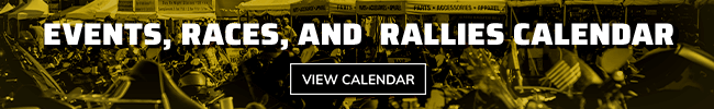 Events, Races, and Rallies Calendar