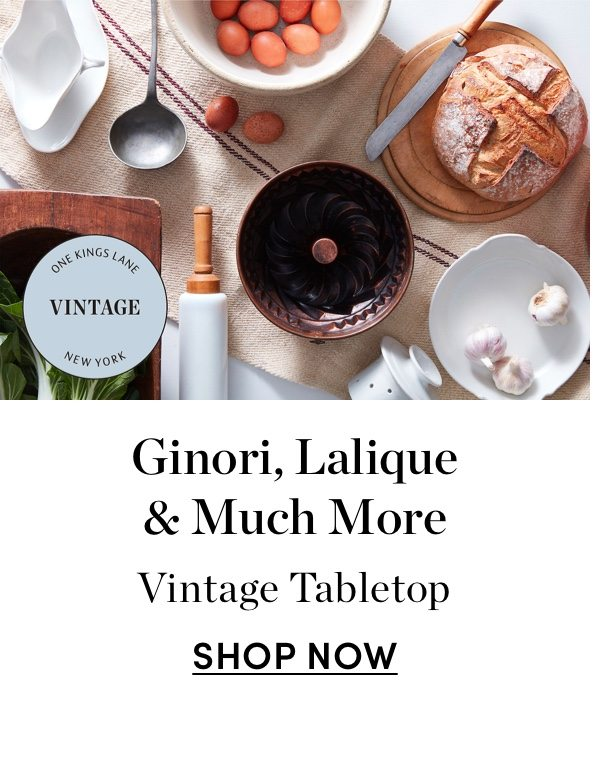 Ginori, Lalique & Much More