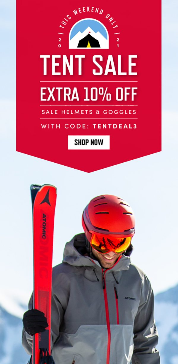 EXTRA 10% OFF SALE HELMETS & GOGGLES