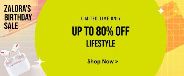Lifestyle Up to 80% Off!