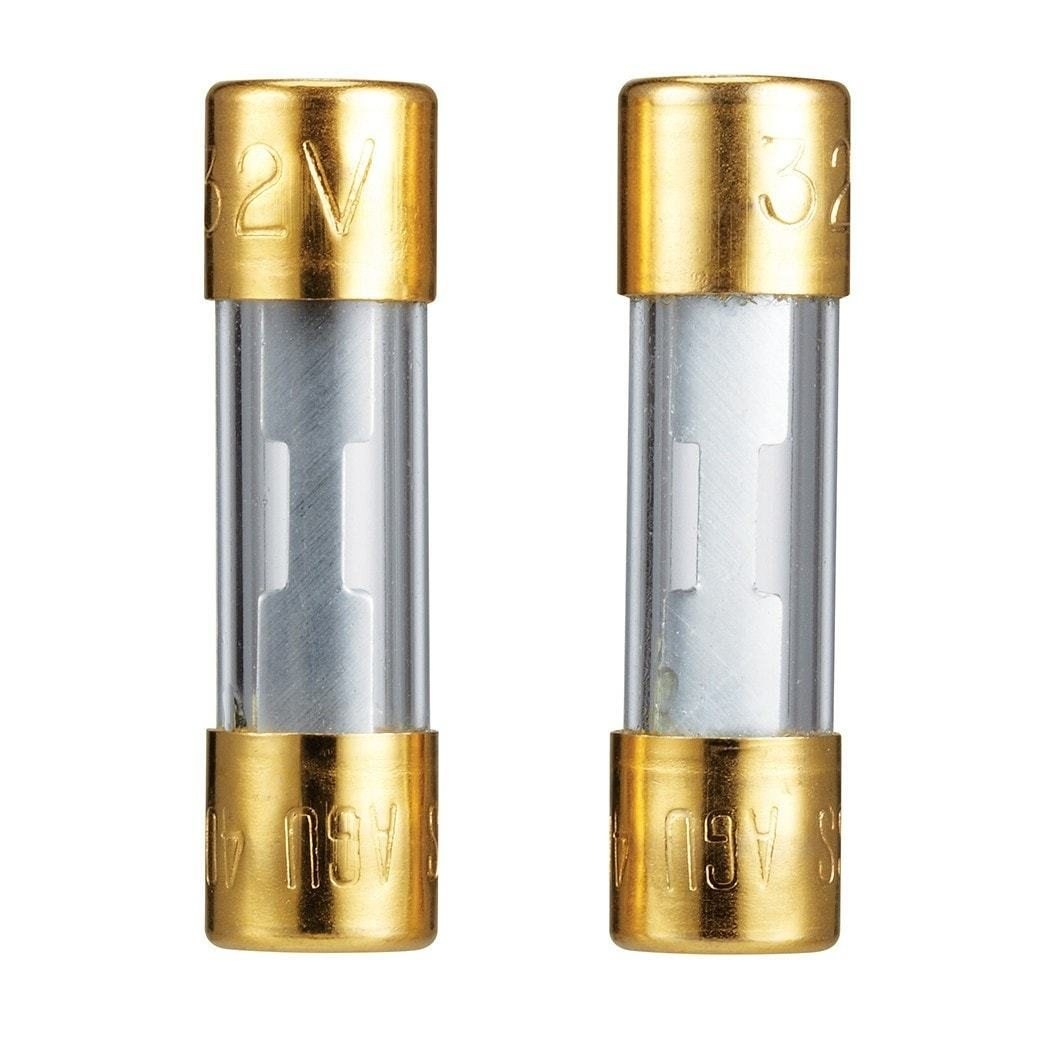 40A 32V Gold-Plated Fuses (2-Pack)