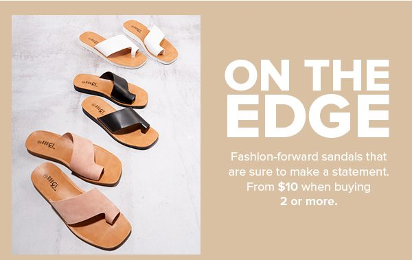 Sandals from $10 When Buying 2 or More