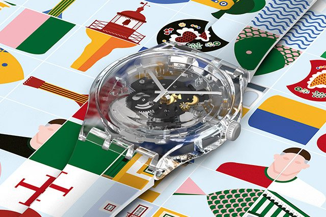 DESIGN YOUR SWATCH X YOU
