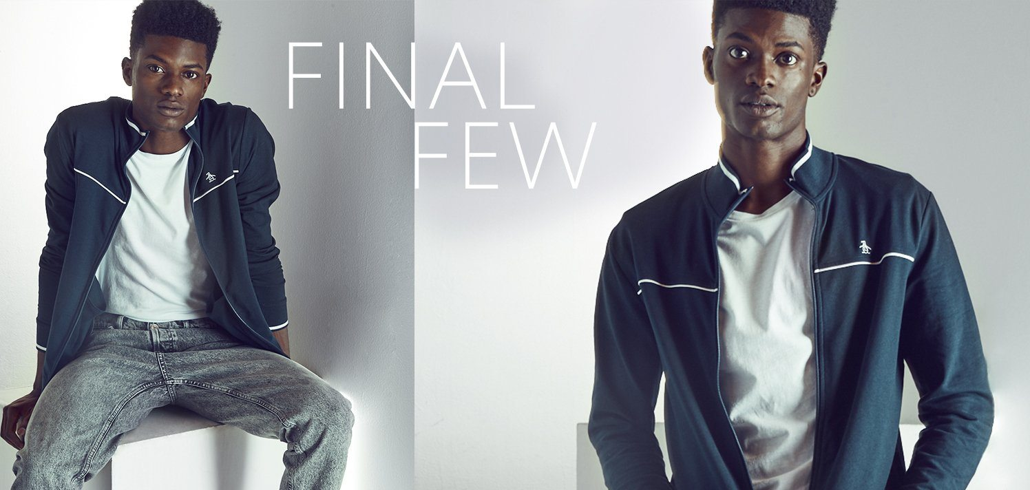 Almost-Sold-Out Men's Style. Fill Up Early.