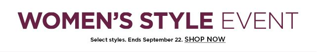 shop the women's style event