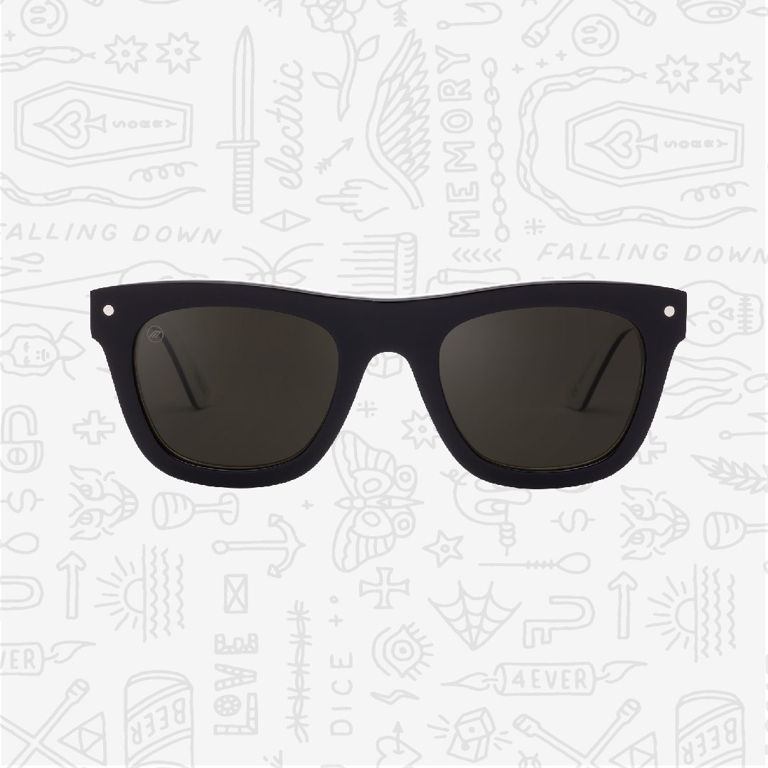 Limited edition black and white Cocktail sunglasses collaboration with Dice Magazine