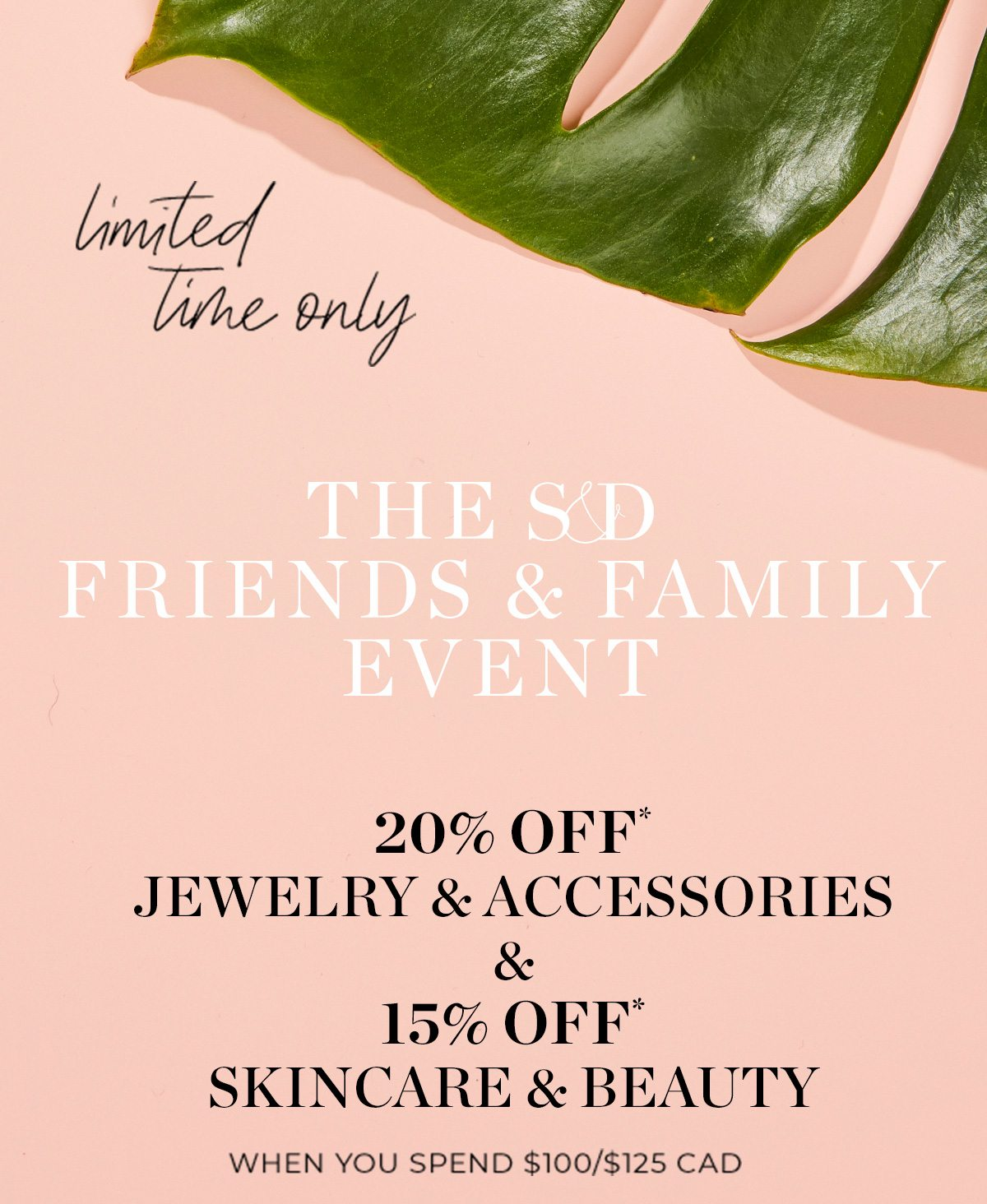 Friends & Family Sale - Going on NOW!
