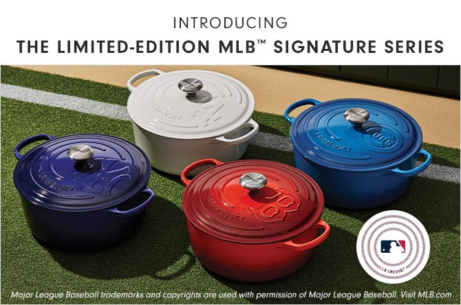 INTRODUCING - THE LIMITED-EDITION MLB™ SIGNATURE SERIES