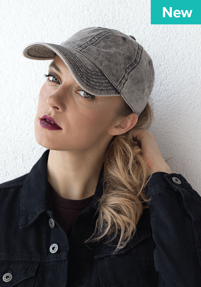 Get back to business—design your own embroidered hats