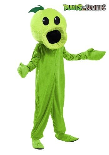 Plants Vs Zombies Kids Peashooter Costume