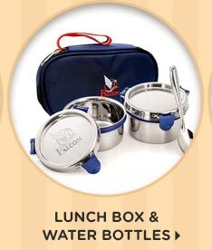 Lunch Box & Water Bottles