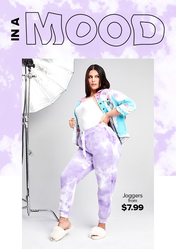 In A Mood | Joggers from $7.99
