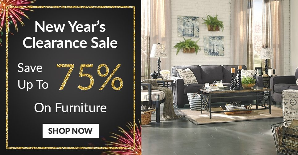 New Year's Clearance Furniture Sale