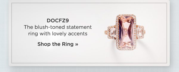 Shop the blush-toned statement ring