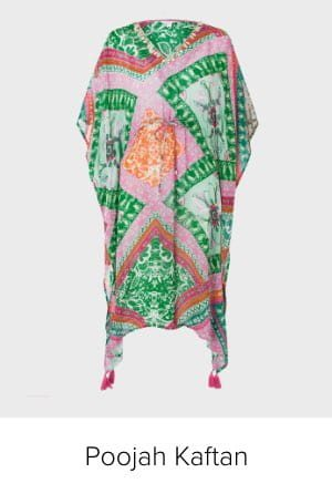 POOJA PRINTED KAFTAN IN SUSTAINABLE VISCOSE