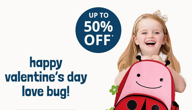 happy valentine's day love bug! | UP TO 50% OFF*