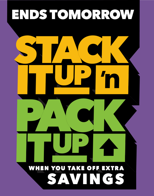 Stack it Up n Pack it Up.