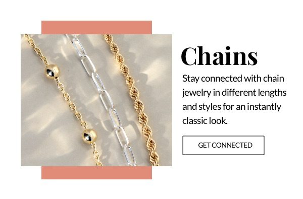 Shop the chain jewelry trend