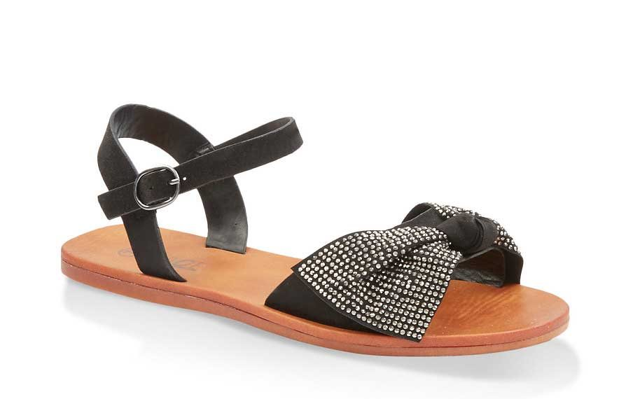 Studded Bow Sandals