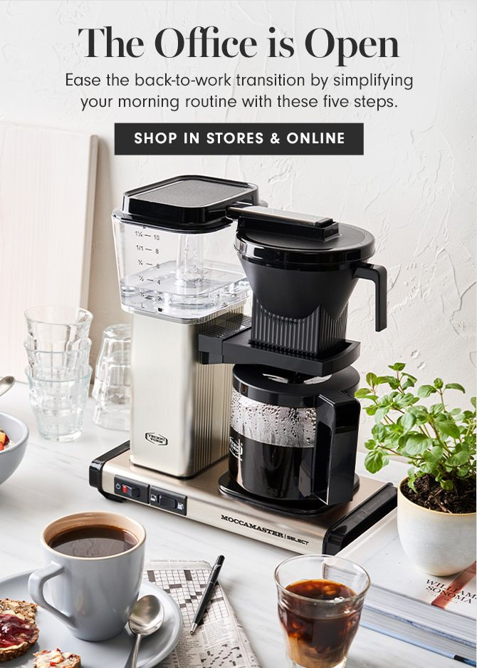 The Office is Open - SHOP IN STORES & ONLINE