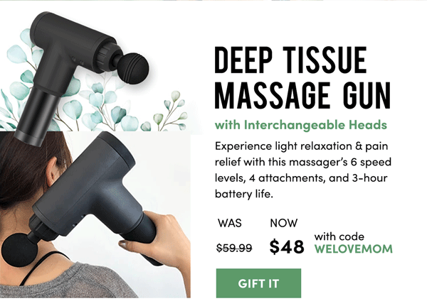 Deep Tissue Massage Gun | Gift It