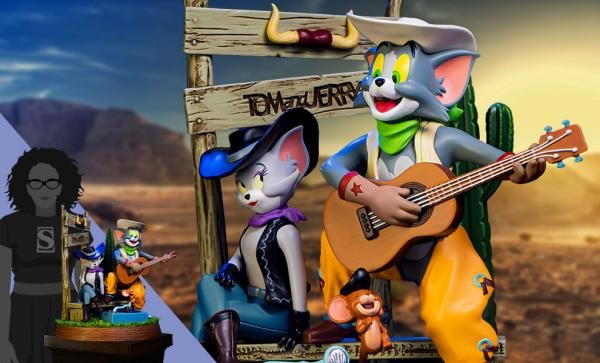 Tom and Jerry Cowboy (Tom and Jerry) Statue by Soap Studio