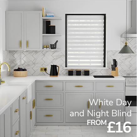 White day and night blind from £16
