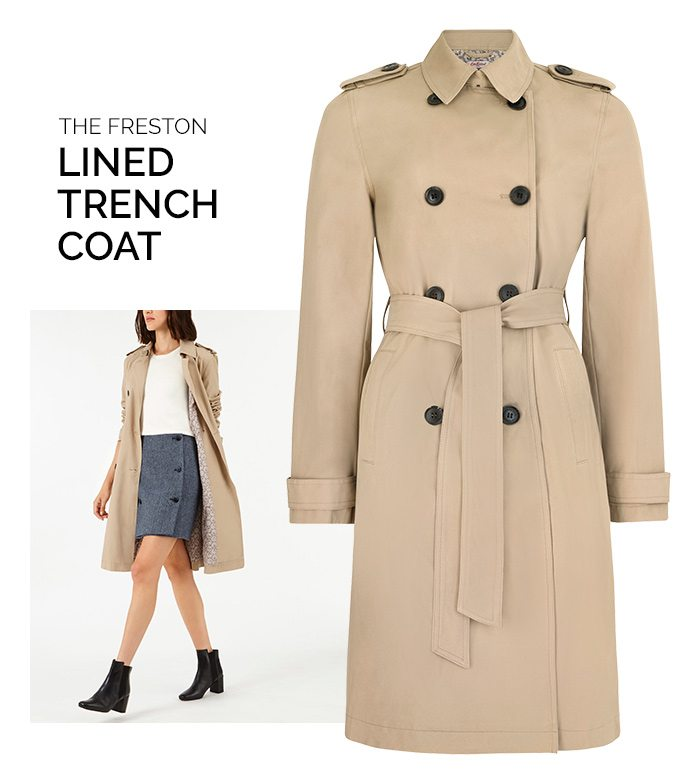 Shop The Freston Trench Coat