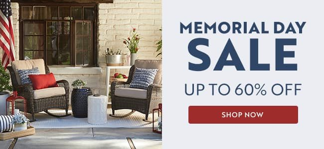 Memorial Day Sale | Up to 60% off | Shop Now