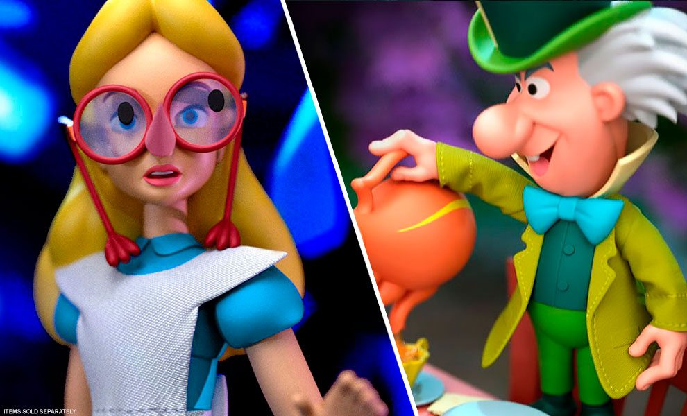 NEW Disney Action Figures by Super 7