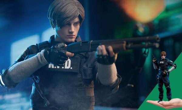 SHIPPING SOON Leon S. Kennedy Sixth Scale Figure by Damtoys