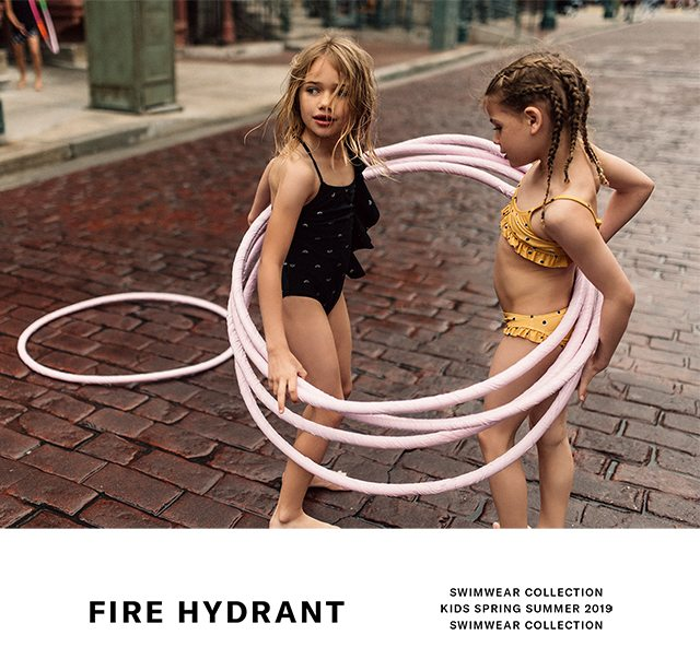041902e550f3a Fire hydrant! New Kids swimwear capsule collection - Zara Email Archive