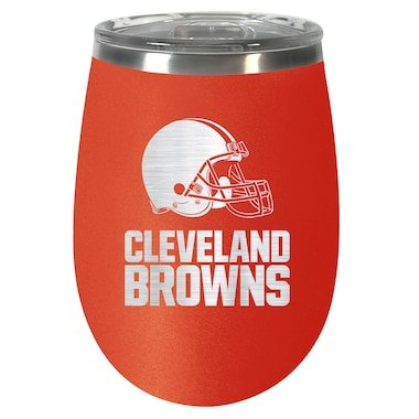 Cleveland Browns 12oz. Team Colored Wine Tumbler