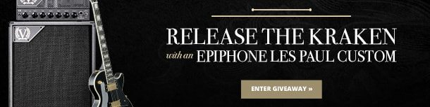 Epiphone and Victory Amps Giveaway!
