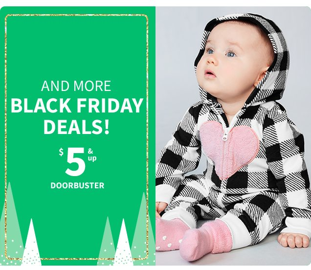 AND MORE BLACK FRIDAY DEALS! | $5 & up DOORBUSTER