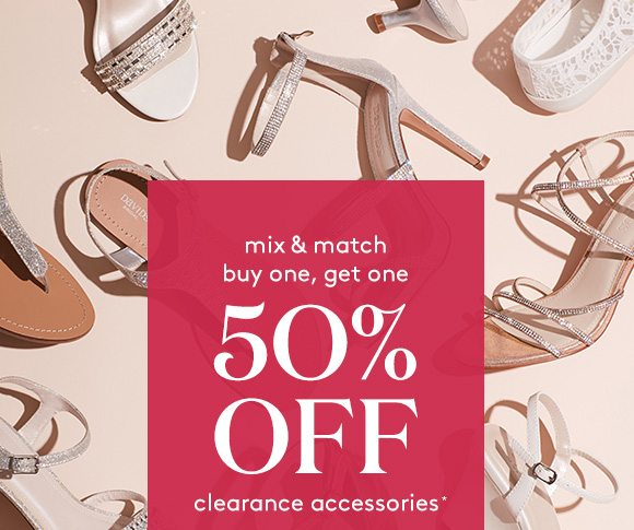 2fbfa83409f9 You ll want to jump on this  BOGO 50% off clearance accessories ...