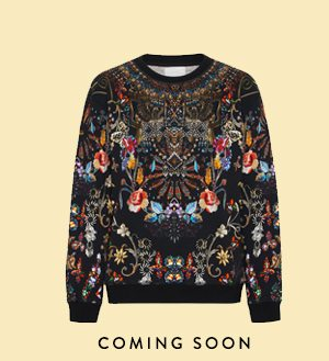 COMING SOON ROUND NECK SWEATER DANCING IN THE DARK