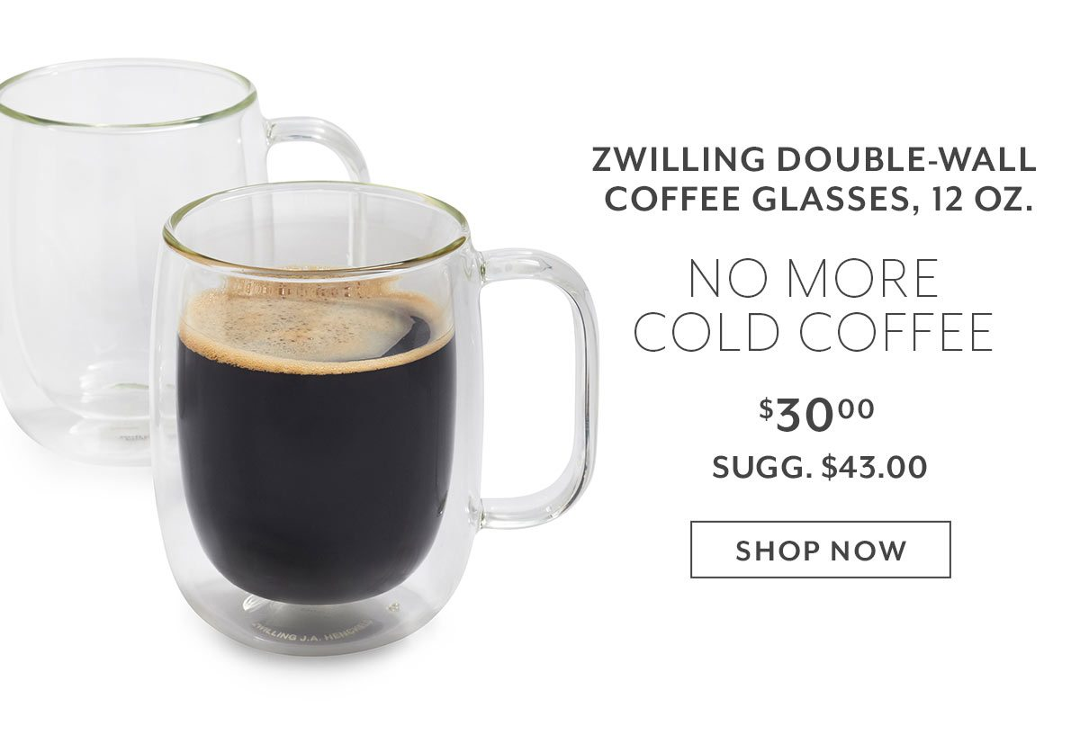 Zwilling Double-wall Coffee Glasses