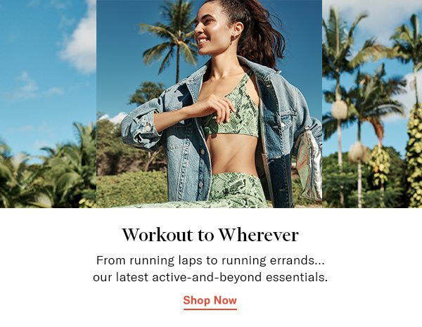 DISCOVER: WORKOUT TO WHEREVER