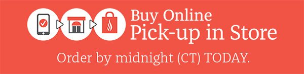 Buy Online Pick-up in Store