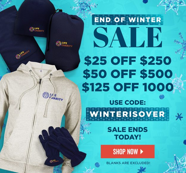 Last Day of Winter Sale