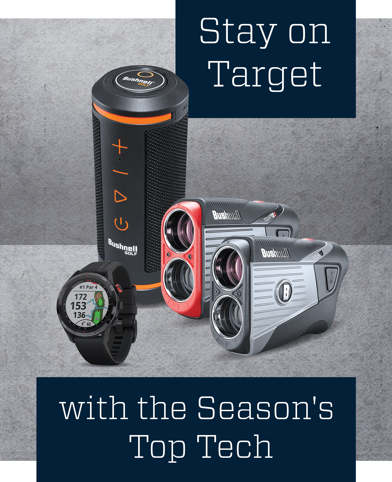 Stay on target with the season's top tech.