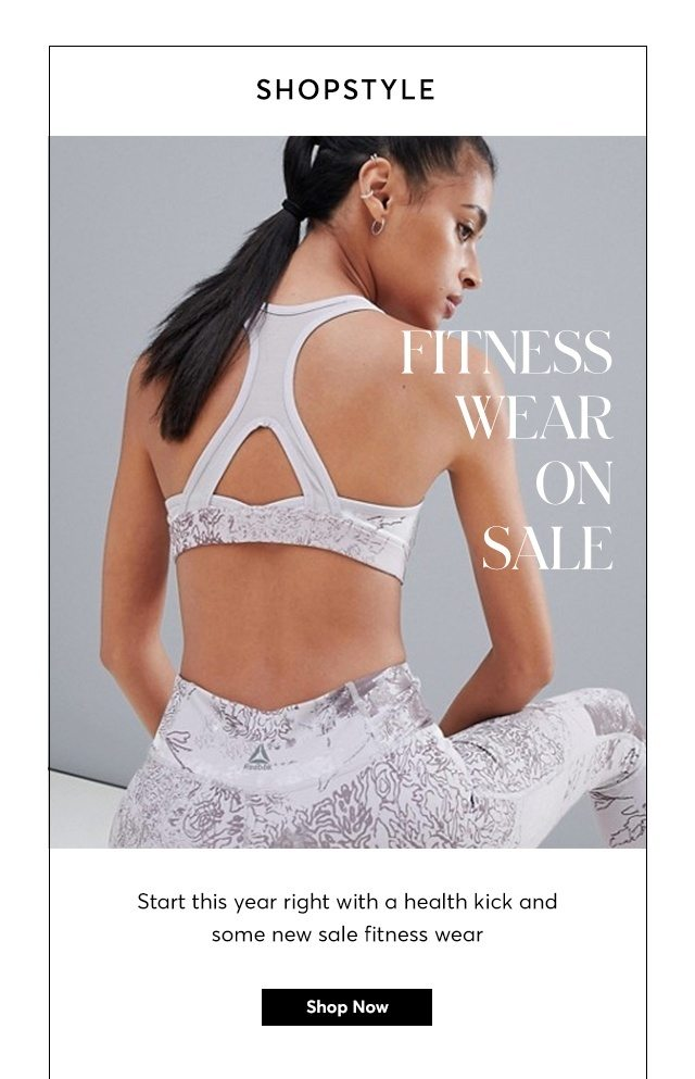 sleek latest fashion drop shipping Fitness Wear On SALE - ShopStyle Email Archive