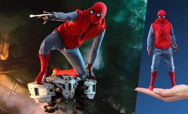 NOW AVAILABLE Spider-Man (Homemade Suit) Sixth Scale Figure by Hot Toys