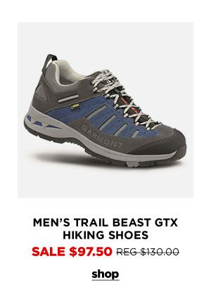 Men's Trail Beast GTX Hiking Shoes - Click to Shop